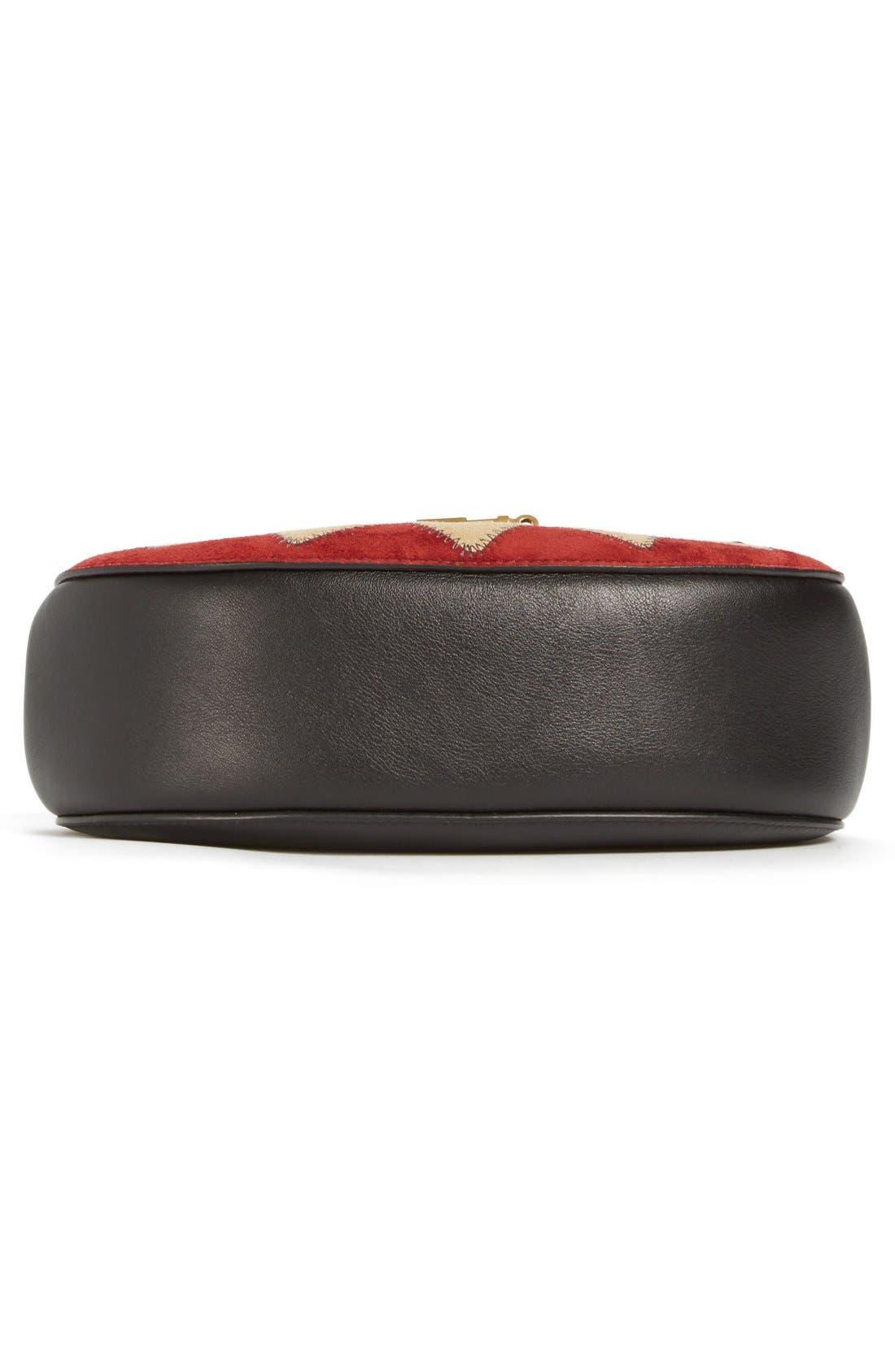 Alternate Image 6  - Chloé 'Small Drew' Wonder Woman Patchwork Suede & Leather Shoulder Bag