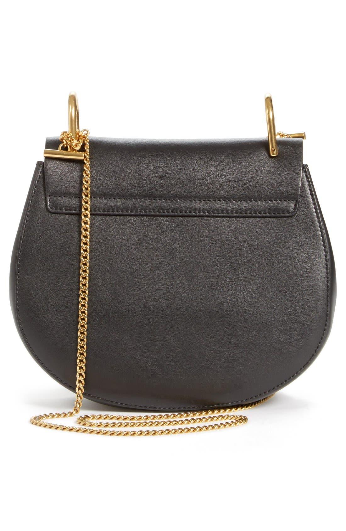 Alternate Image 3  - Chloé 'Small Drew' Wonder Woman Patchwork Suede & Leather Shoulder Bag