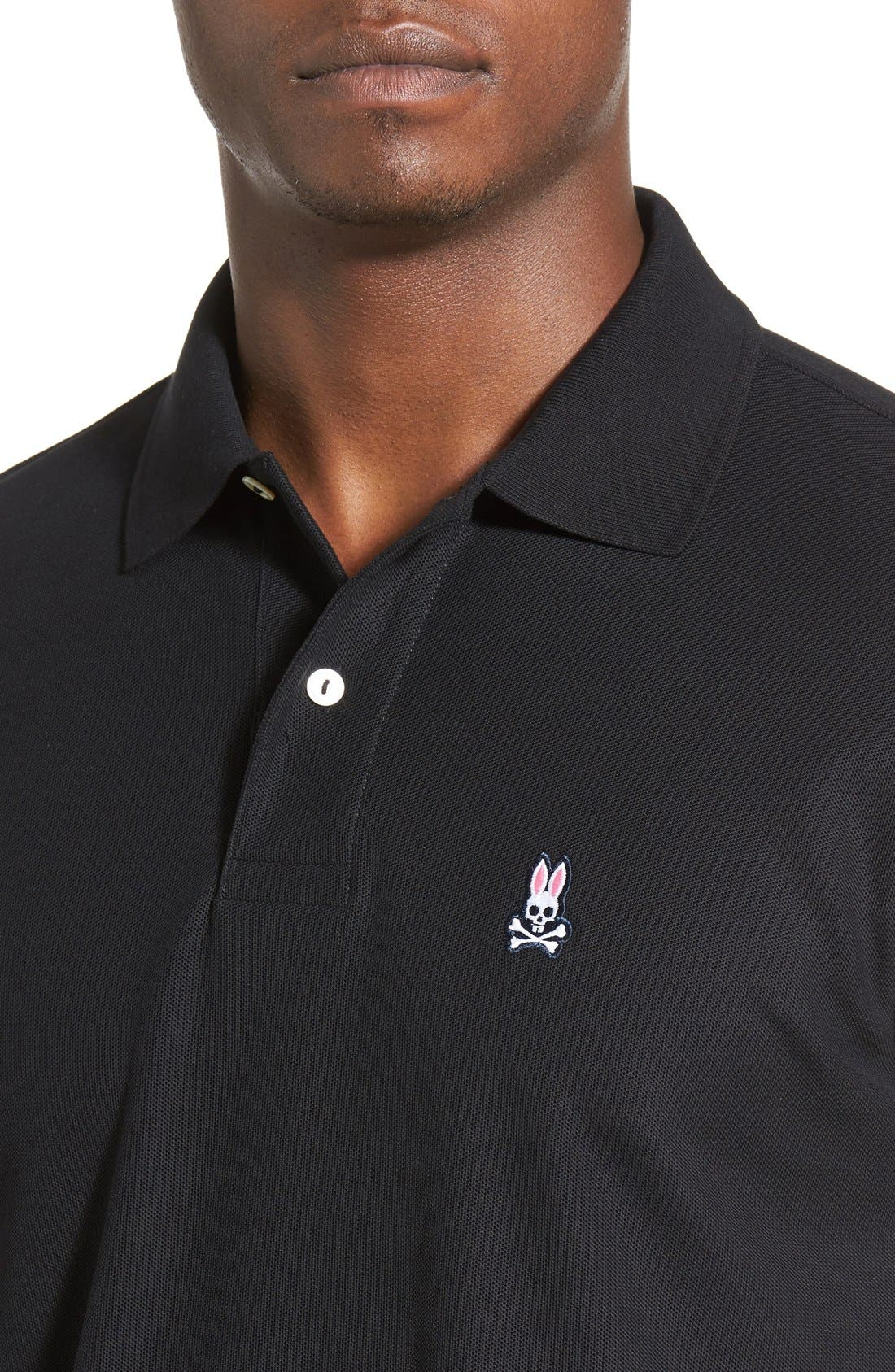 Alternate Image 4  - Psycho Bunny The Classic Piqué Knit Polo