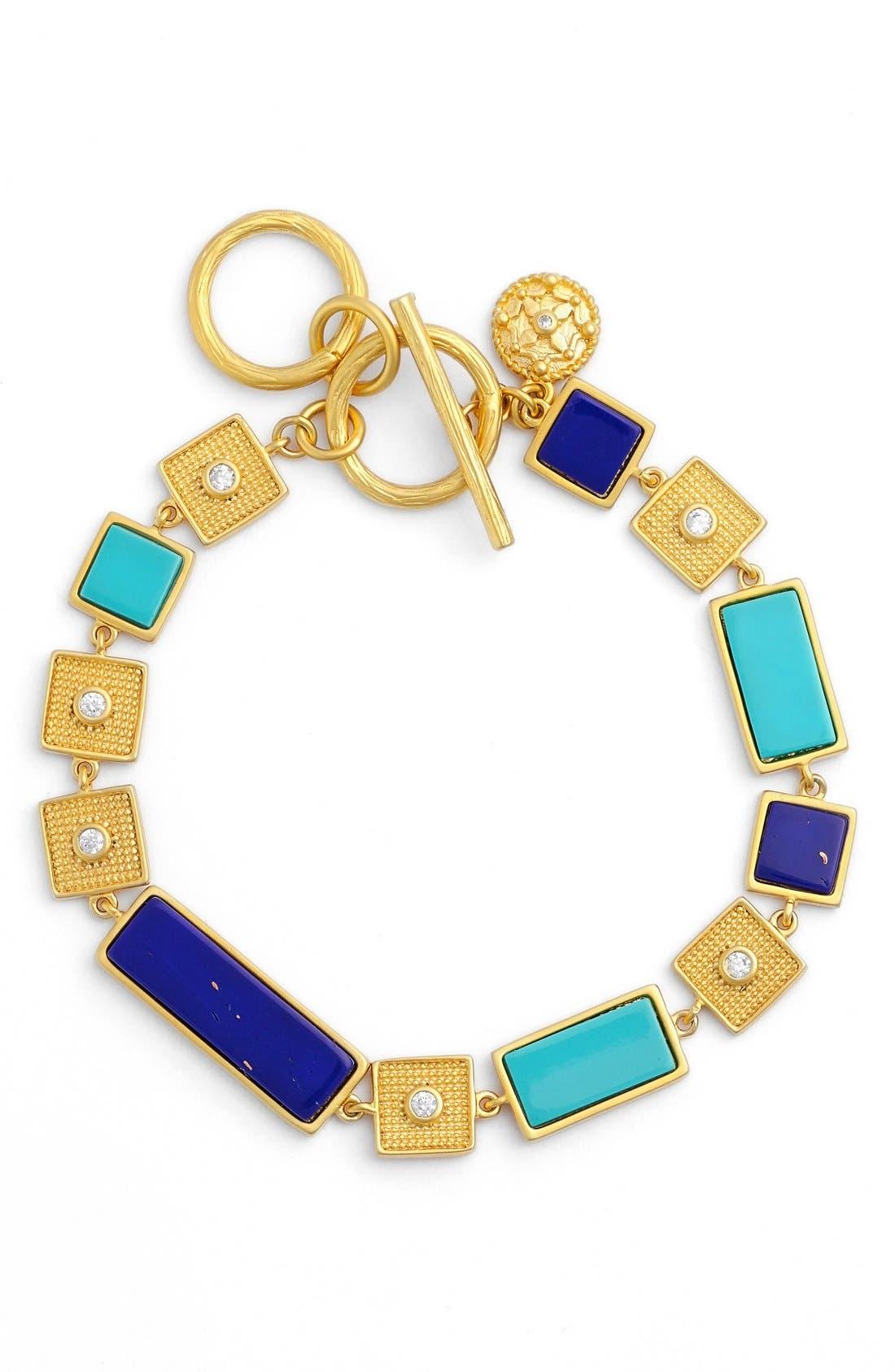 Main Image - FREIDA ROTHMAN 'Bricked Lapis' Stacked Bracelet