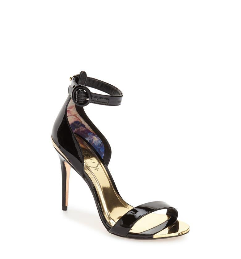 ted baker london 39 rynne 39 ankle strap sandal women nordstrom. Black Bedroom Furniture Sets. Home Design Ideas