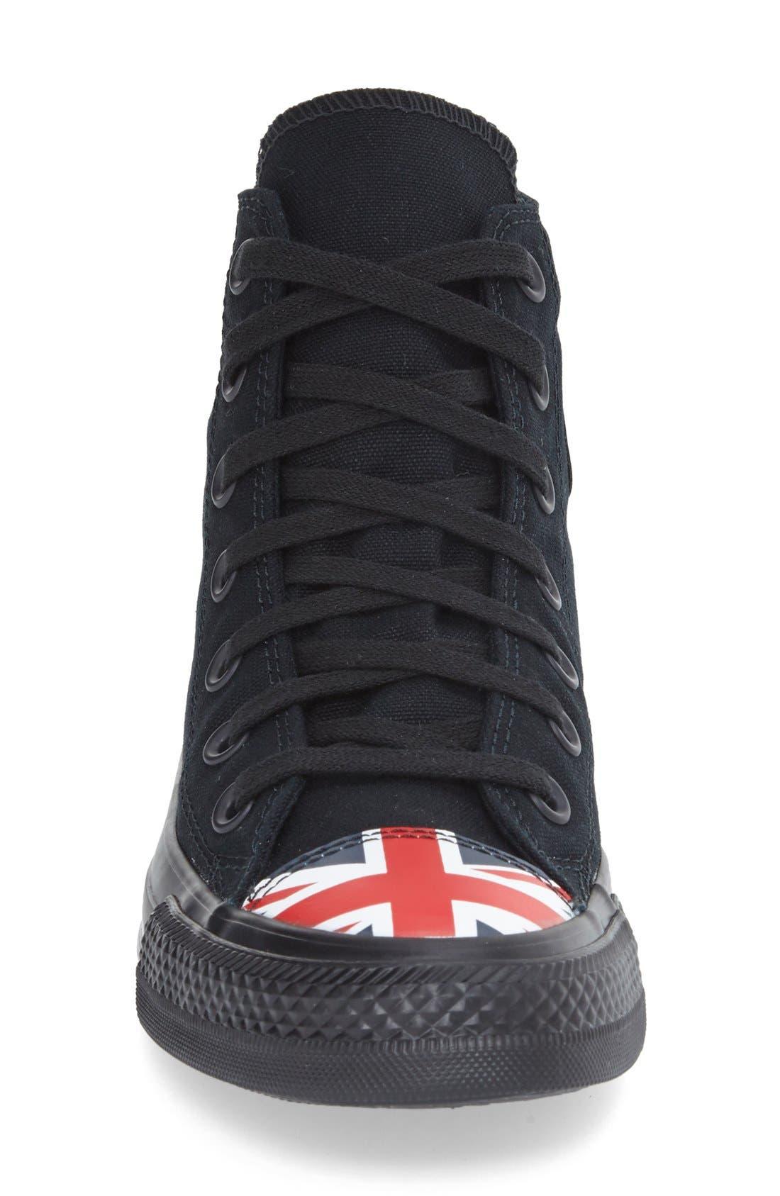 Alternate Image 3  - Converse Chuck Taylor® All Star® Flag Cap Toe High Top Sneaker (Women)