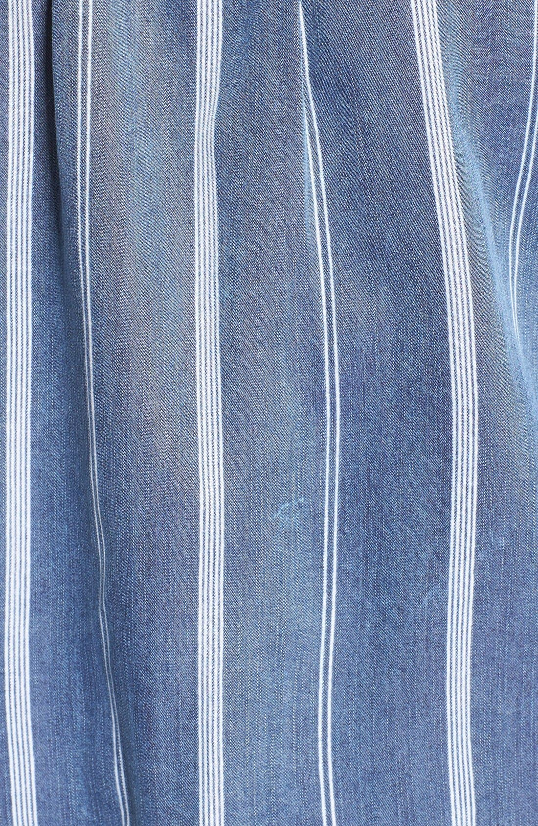 Alternate Image 5  - Rails 'Dana' Stripe Chambray Shirt