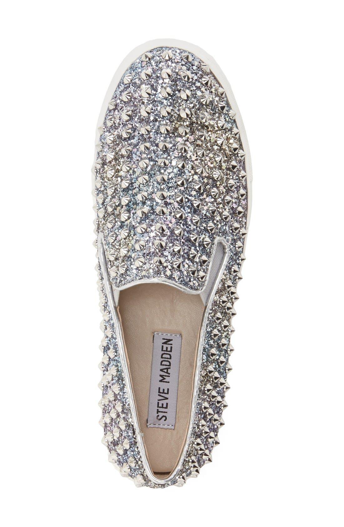 Alternate Image 3  - Steve Madden 'Emmmaa' Studded Slip-On Sneaker (Women)