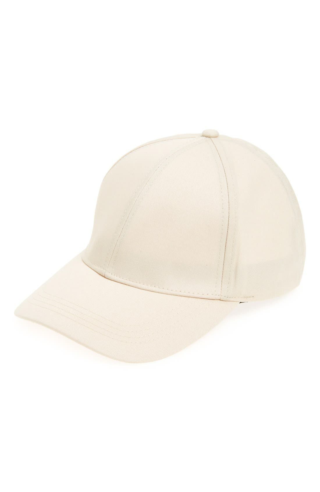 Main Image - David & Young Twill Baseball Cap