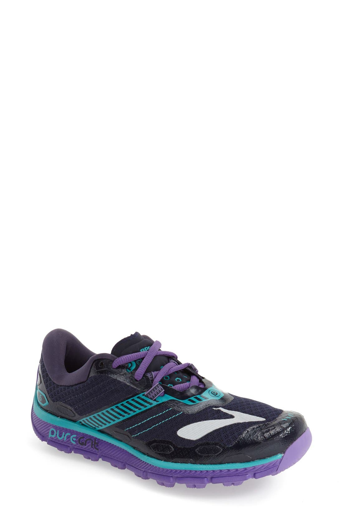 Brooks 'PureGrit 5' Trail Running Shoe (Women)