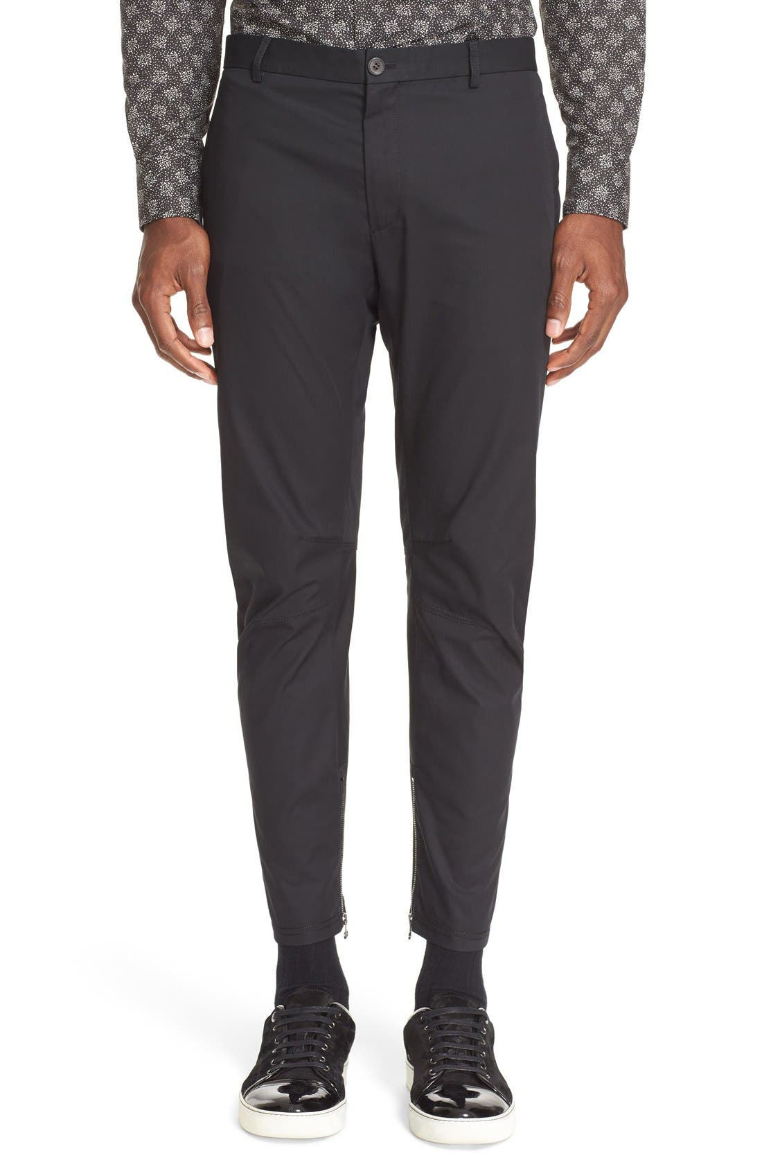 Alternate Image 1 Selected - Lanvin Cotton Biker Pants