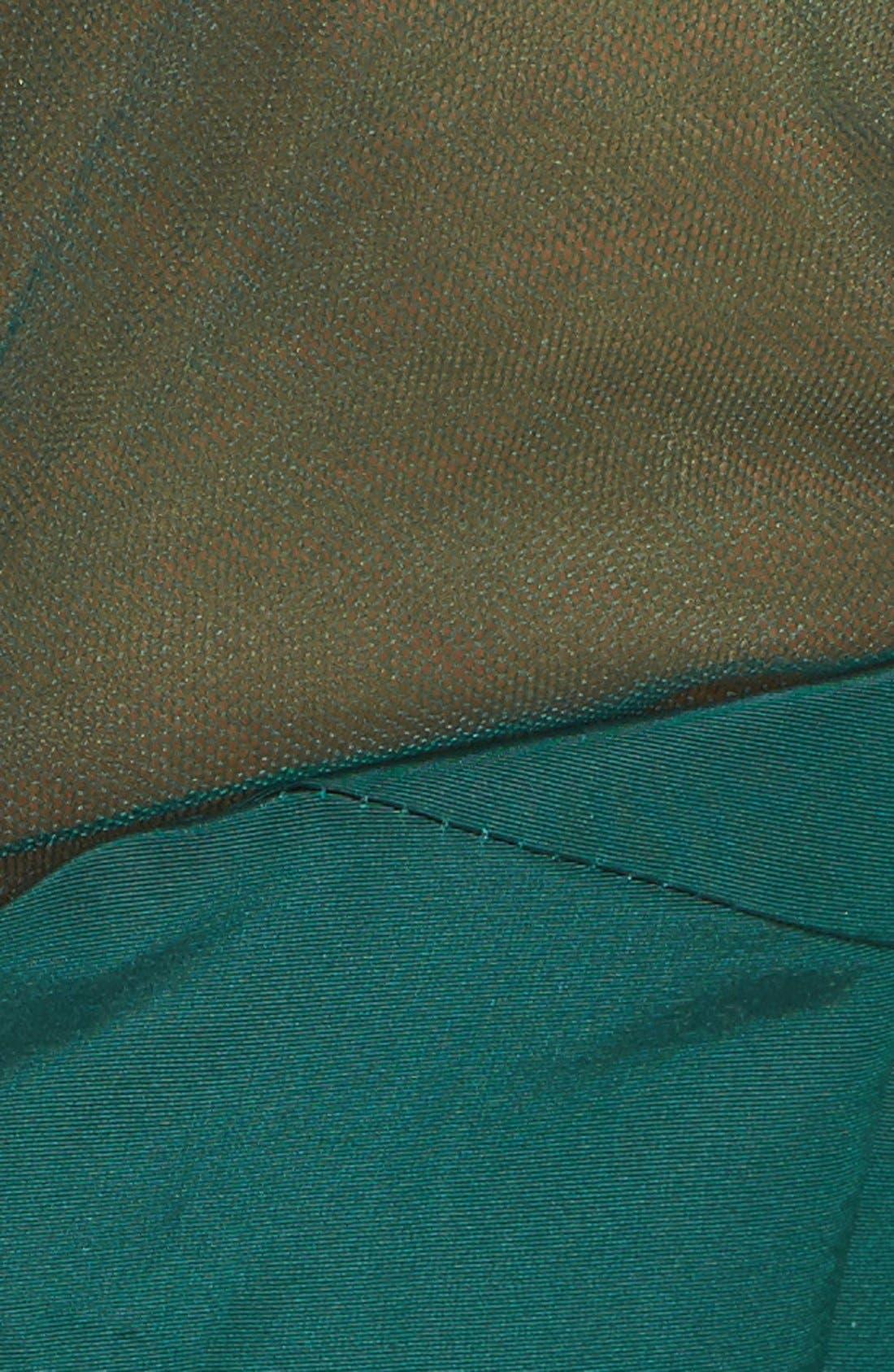Alternate Image 5  - Pamella Roland Crystal Sequin Silk Faille Gown