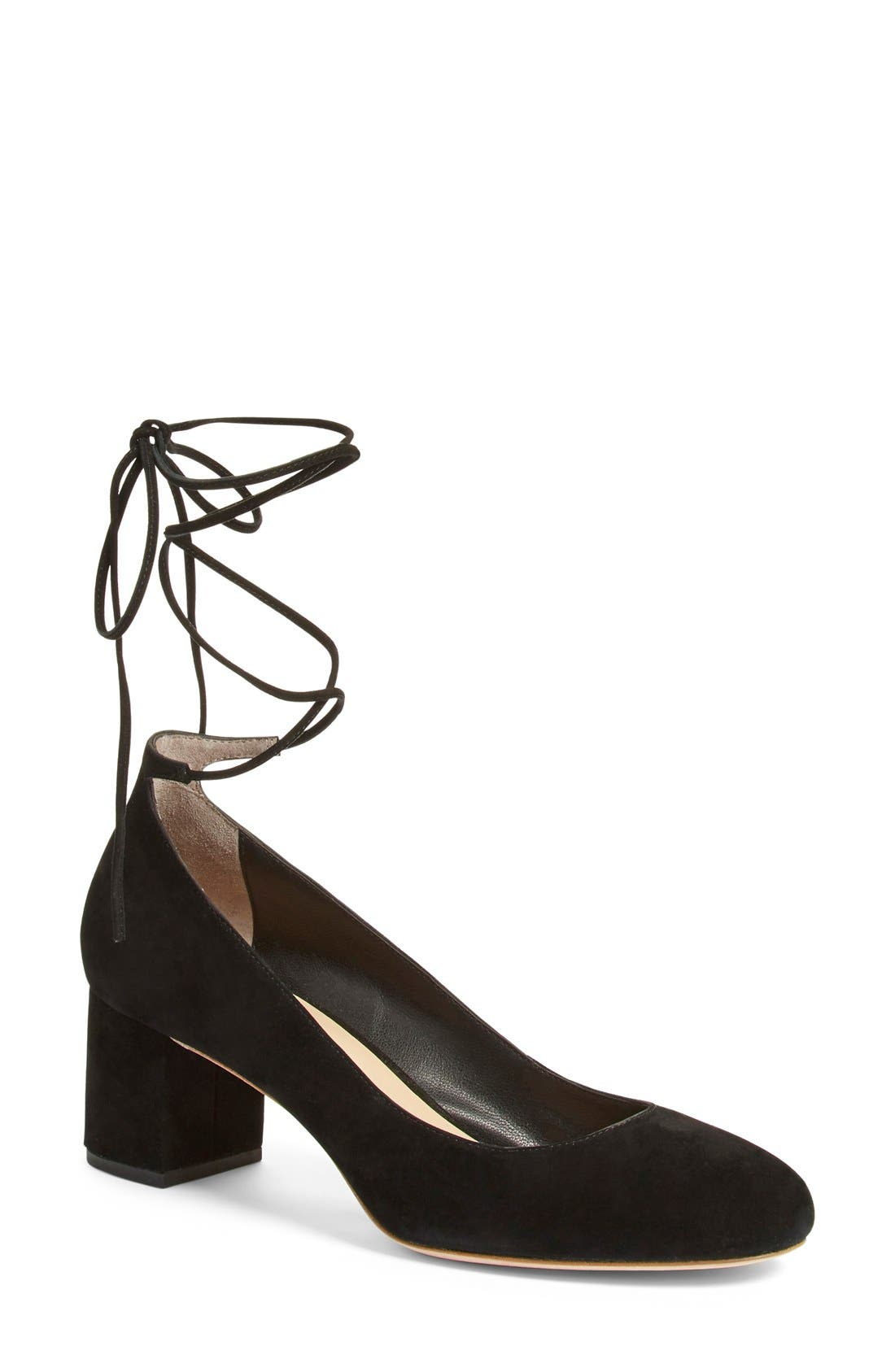 Alternate Image 1 Selected - Loeffler Randall 'Clara' Block Heel Pump (Women)