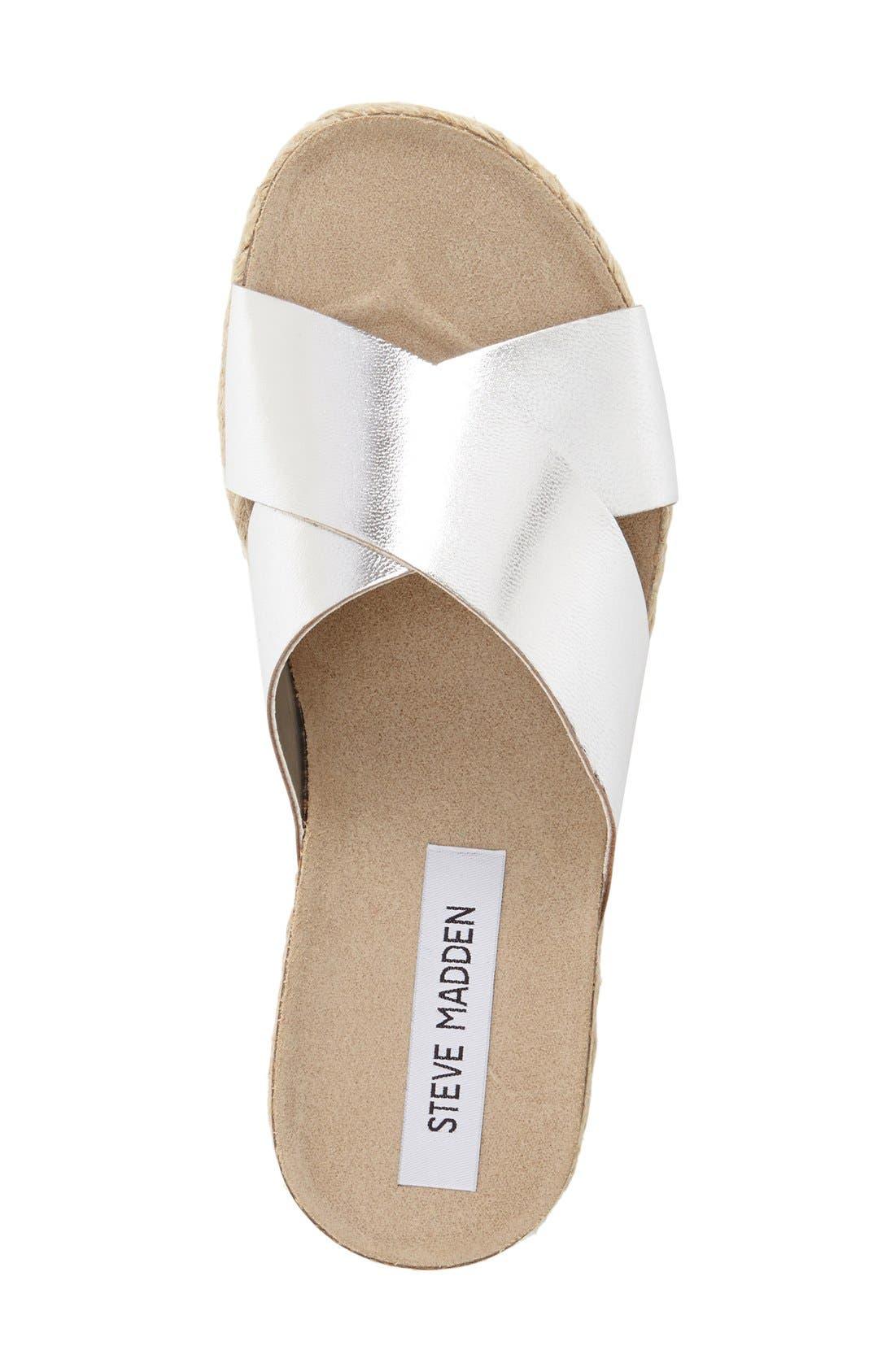 Alternate Image 3  - Steve Madden 'Arran' Espadrille Platform Sandal (Women)