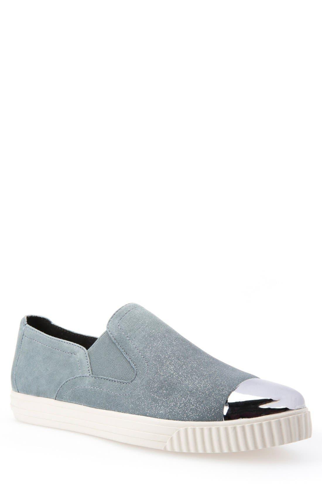 Alternate Image 1 Selected - Geox 'Amalthia' Cap Toe Sneaker (Women)