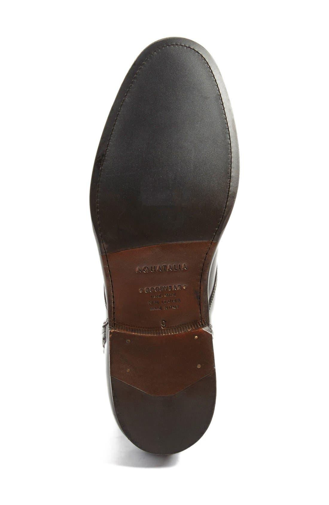 Alternate Image 4  - Aquatalia 'Victor' Plain Toe Boot (Men)