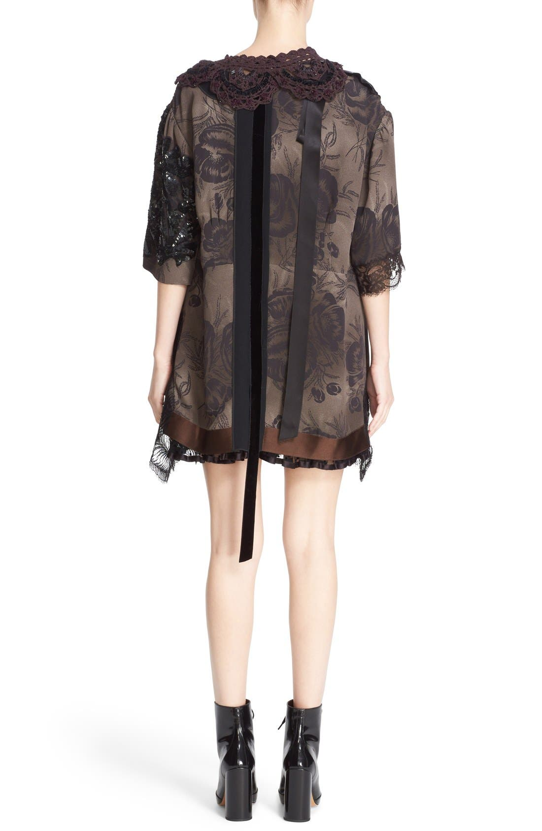 Alternate Image 2  - MARC JACOBS 'Shadow Tulip' Embellished Shift Dress