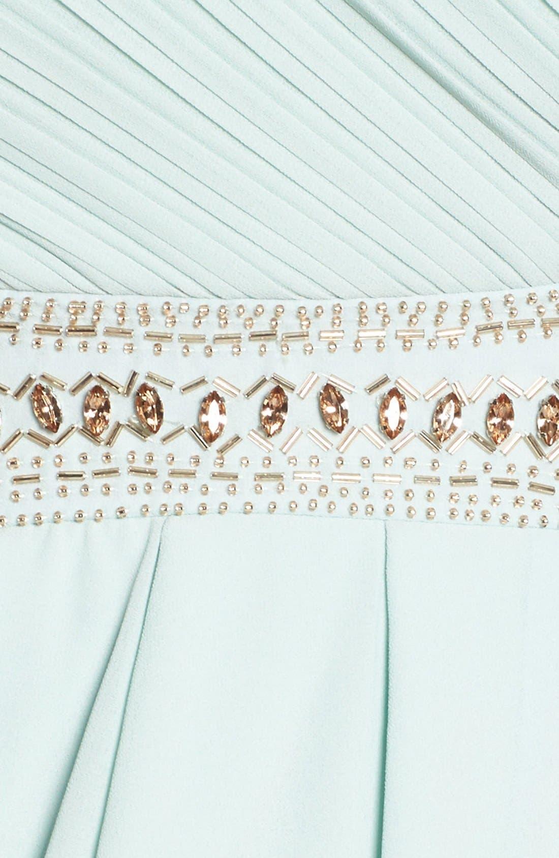 Alternate Image 5  - TFNC 'Catalina' Embellished Strapless Midi Dress