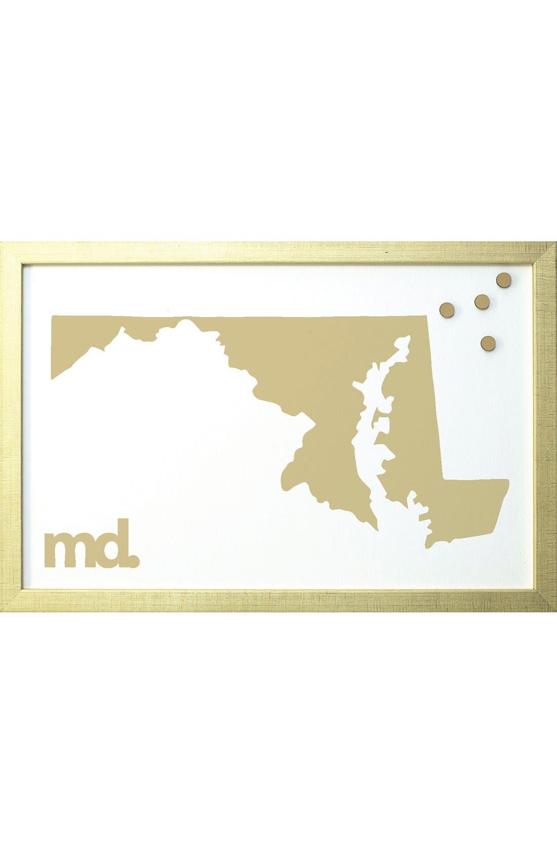 Petal Lane State Magnetic Board