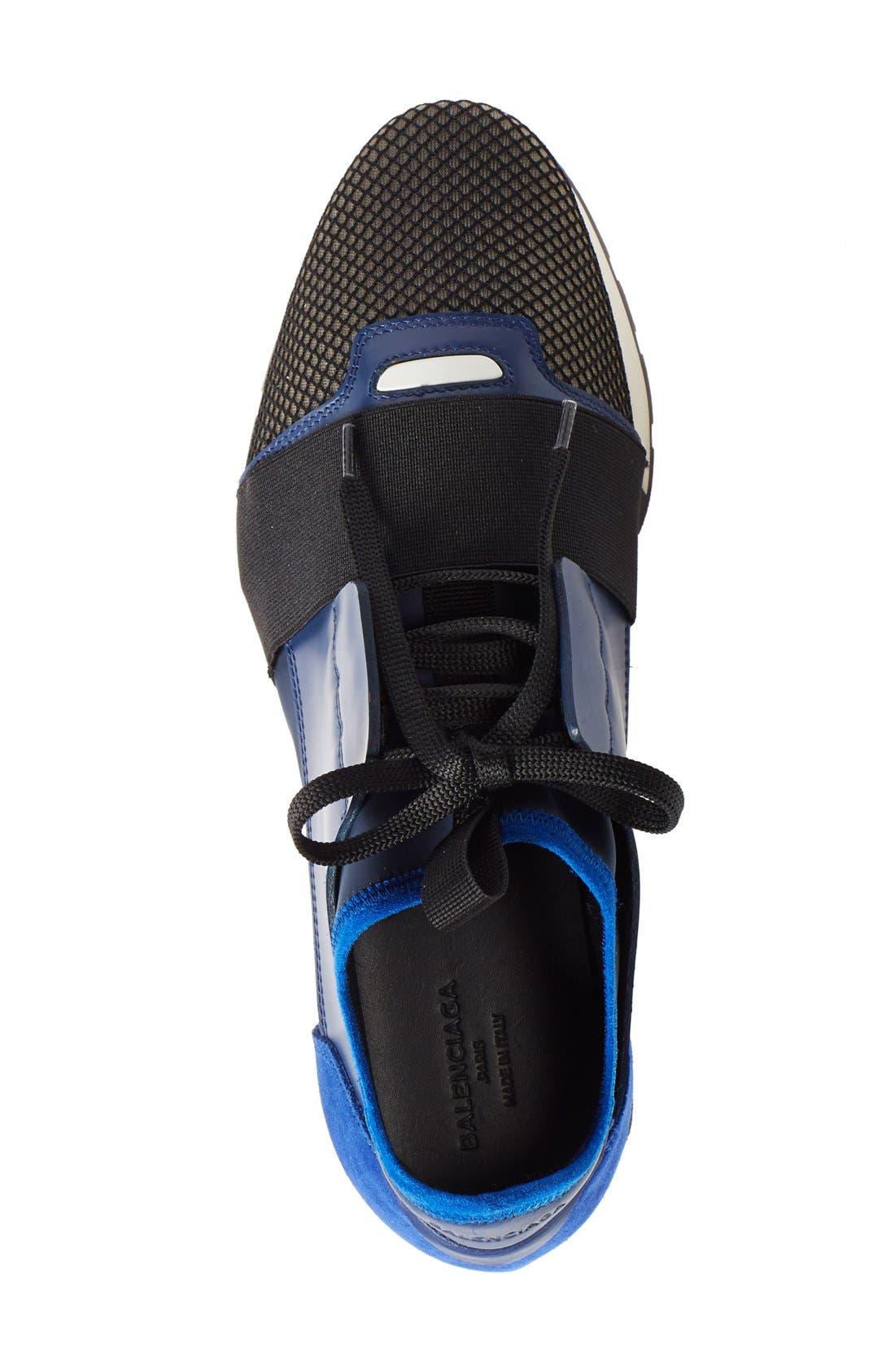 Alternate Image 3  - Balenciaga Mixed Media Sneaker (Women)