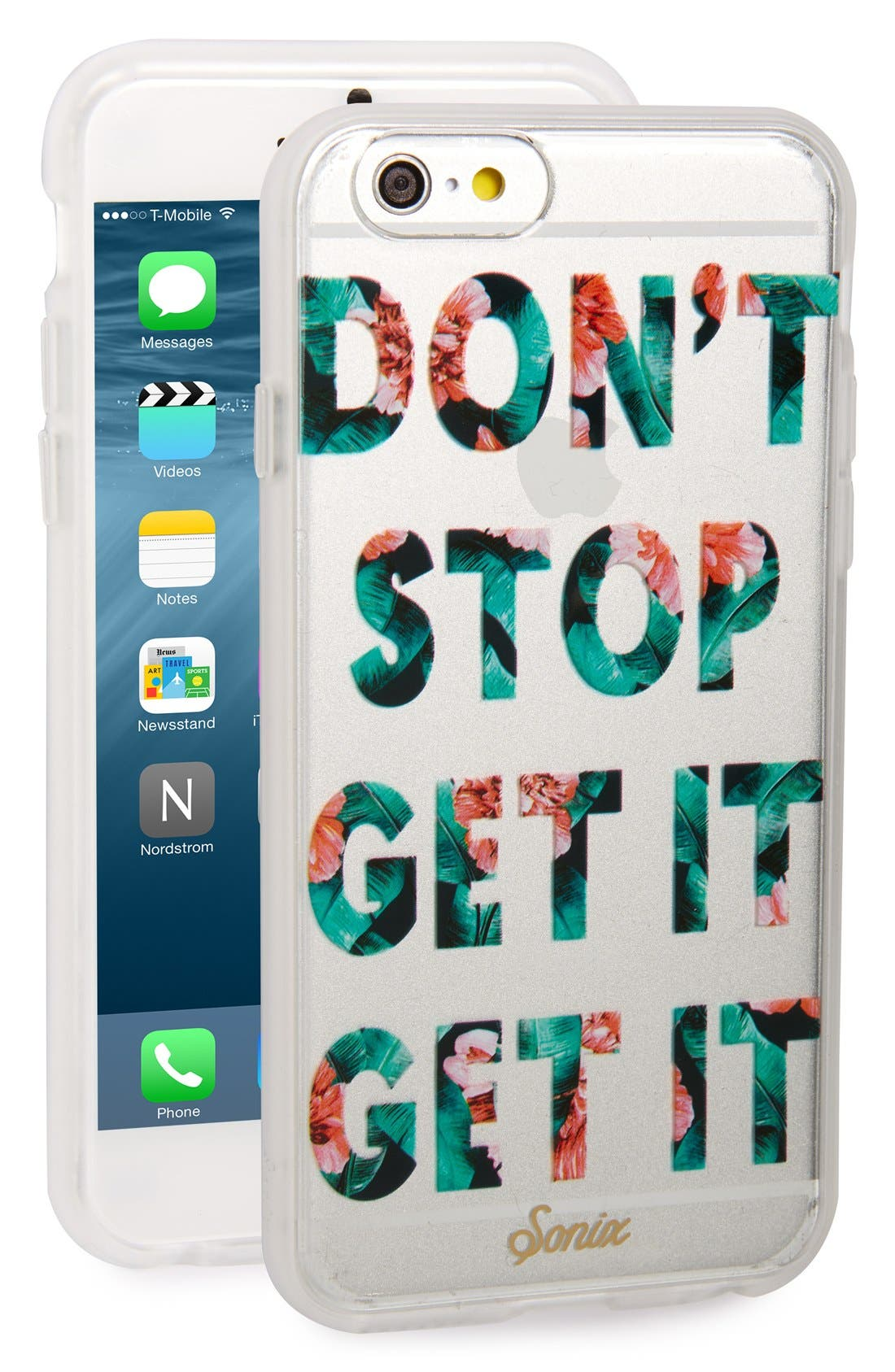 Alternate Image 1 Selected - Sonix Get It iPhone 6/6s Case