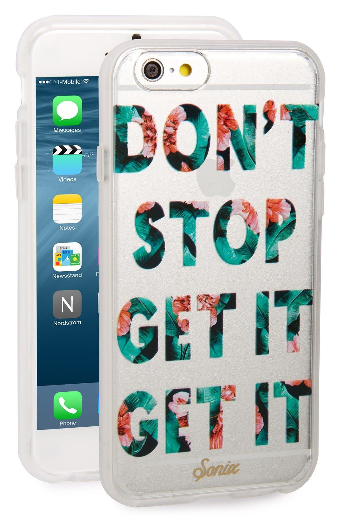 Main Image - Sonix Get It iPhone 6/6s Case