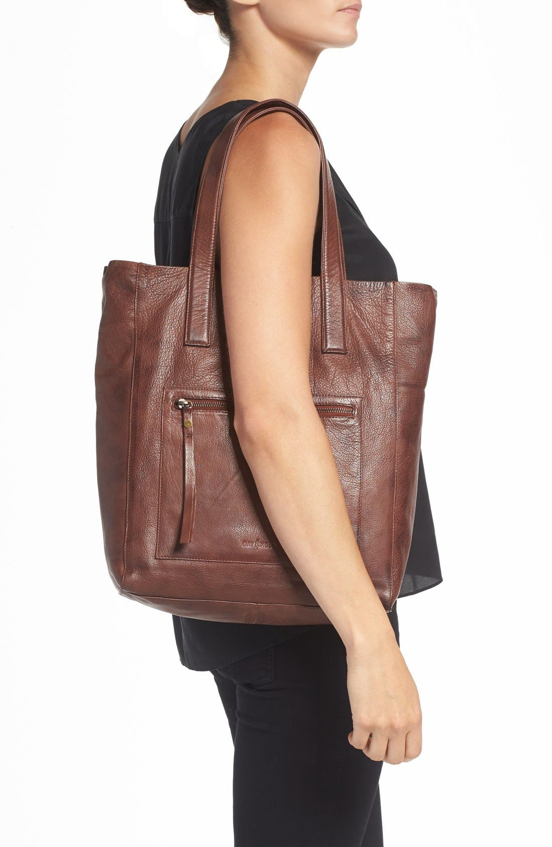 Alternate Image 2  - DAY & MOOD 'Nola' Leather Tote
