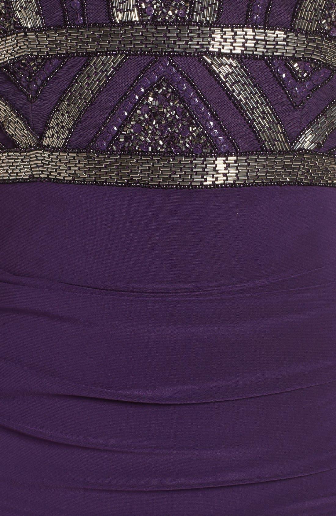 Alternate Image 6  - Adrianna Papell Sleeveless Beaded Bodice Dress