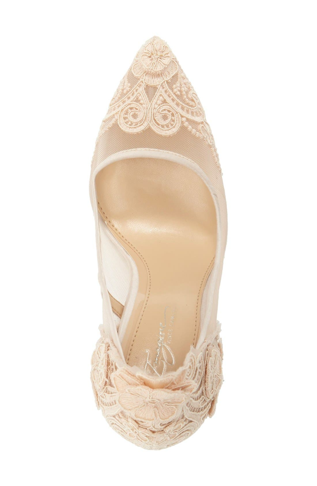 Alternate Image 3  - Imagine by Vince Camuto 'Ophelia' Pointy Toe Pump (Women)