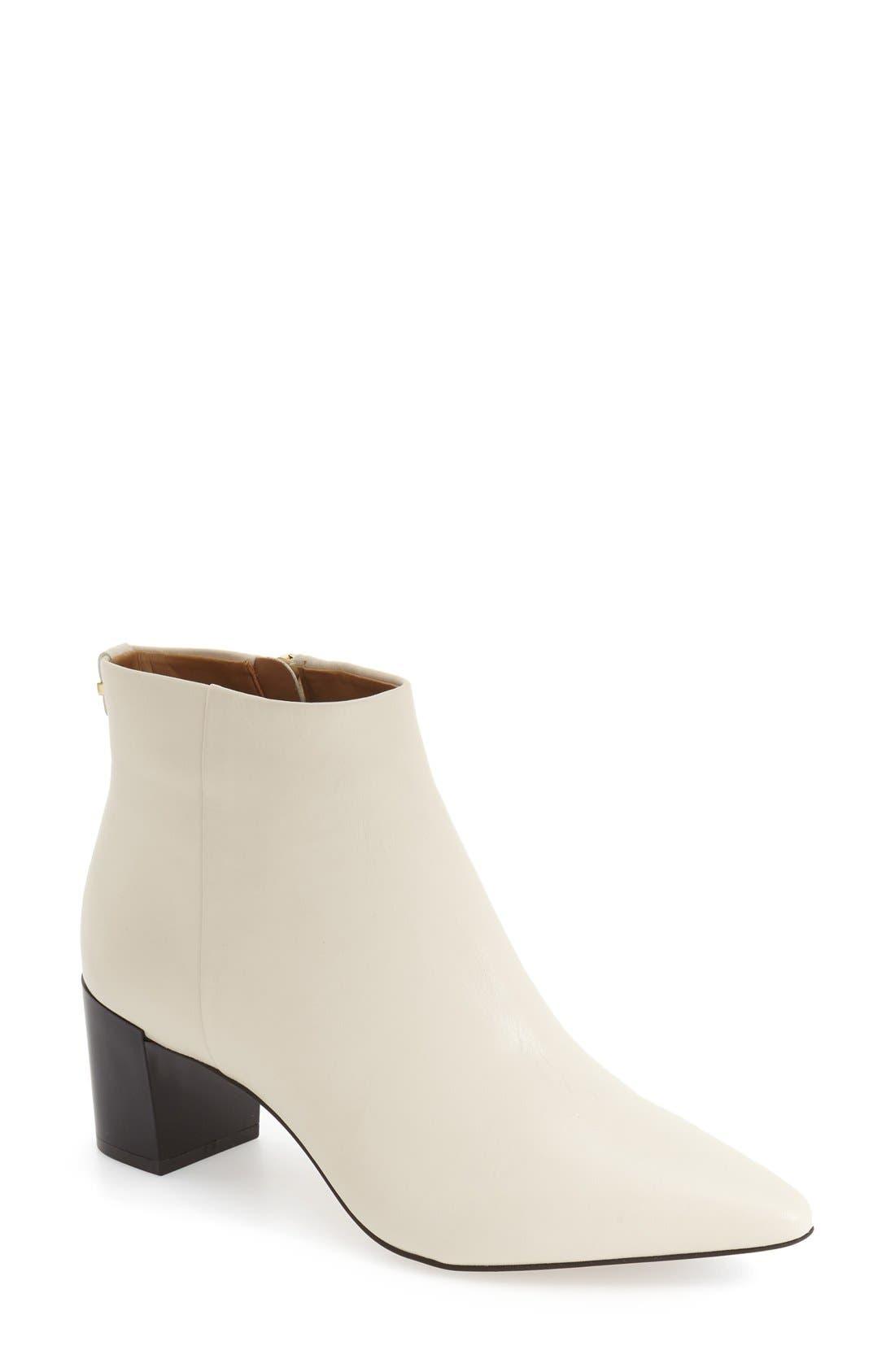 Main Image - Calvin Klein 'Narla' Block Heel Bootie (Women)