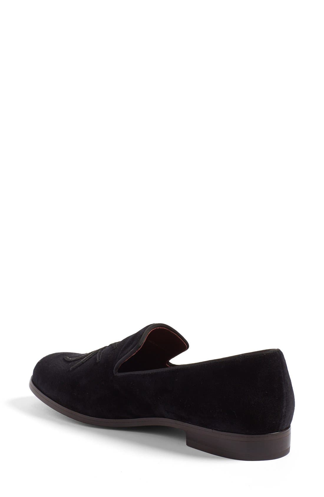 Alternate Image 2  - MARC JACOBS 'Zoe' Embroidered Spider Loafer (Women)