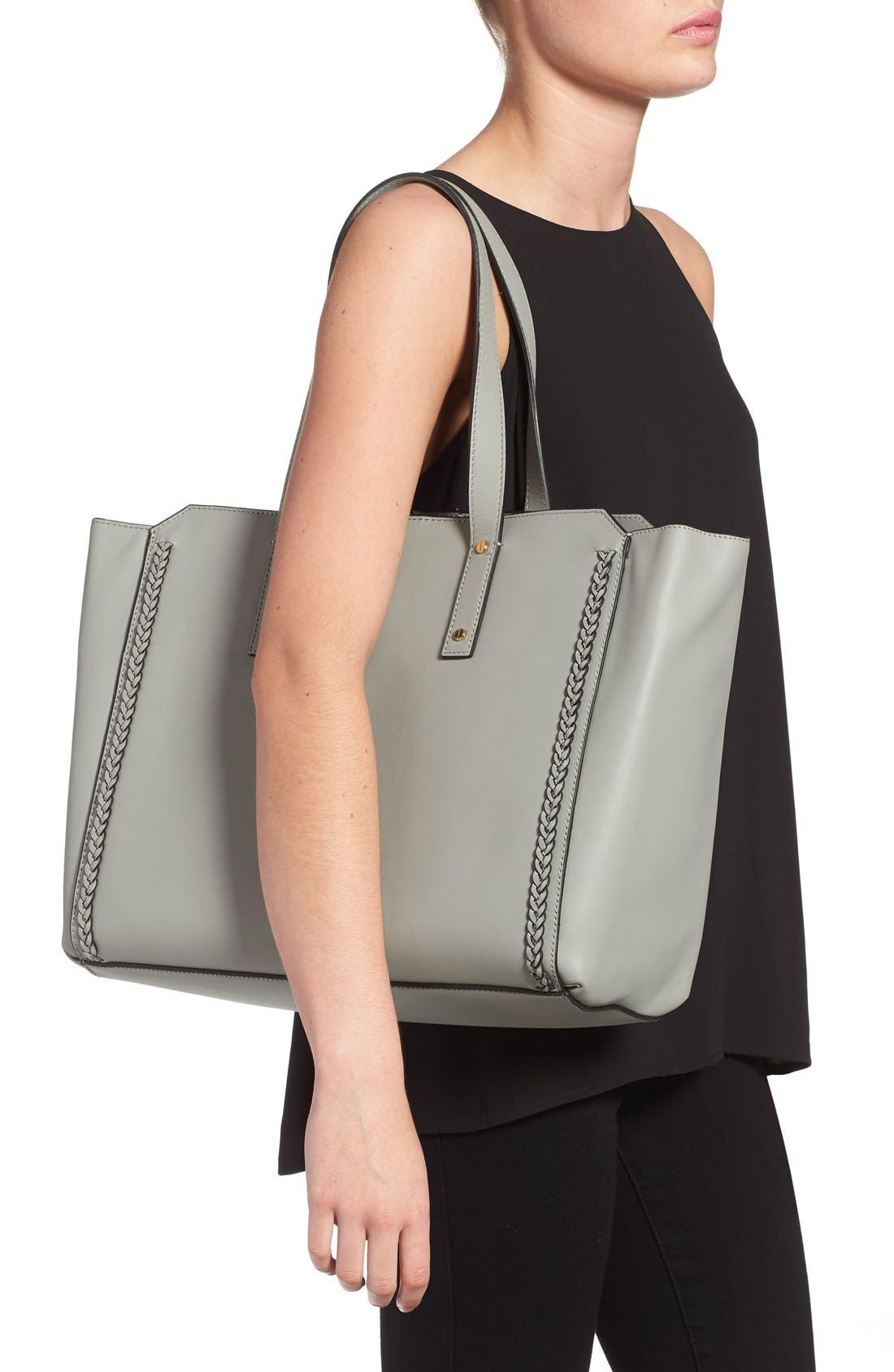 Alternate Image 2  - Ivanka Trump 'Soho Solutions' Leather Work Tote with Battery Charging Pack