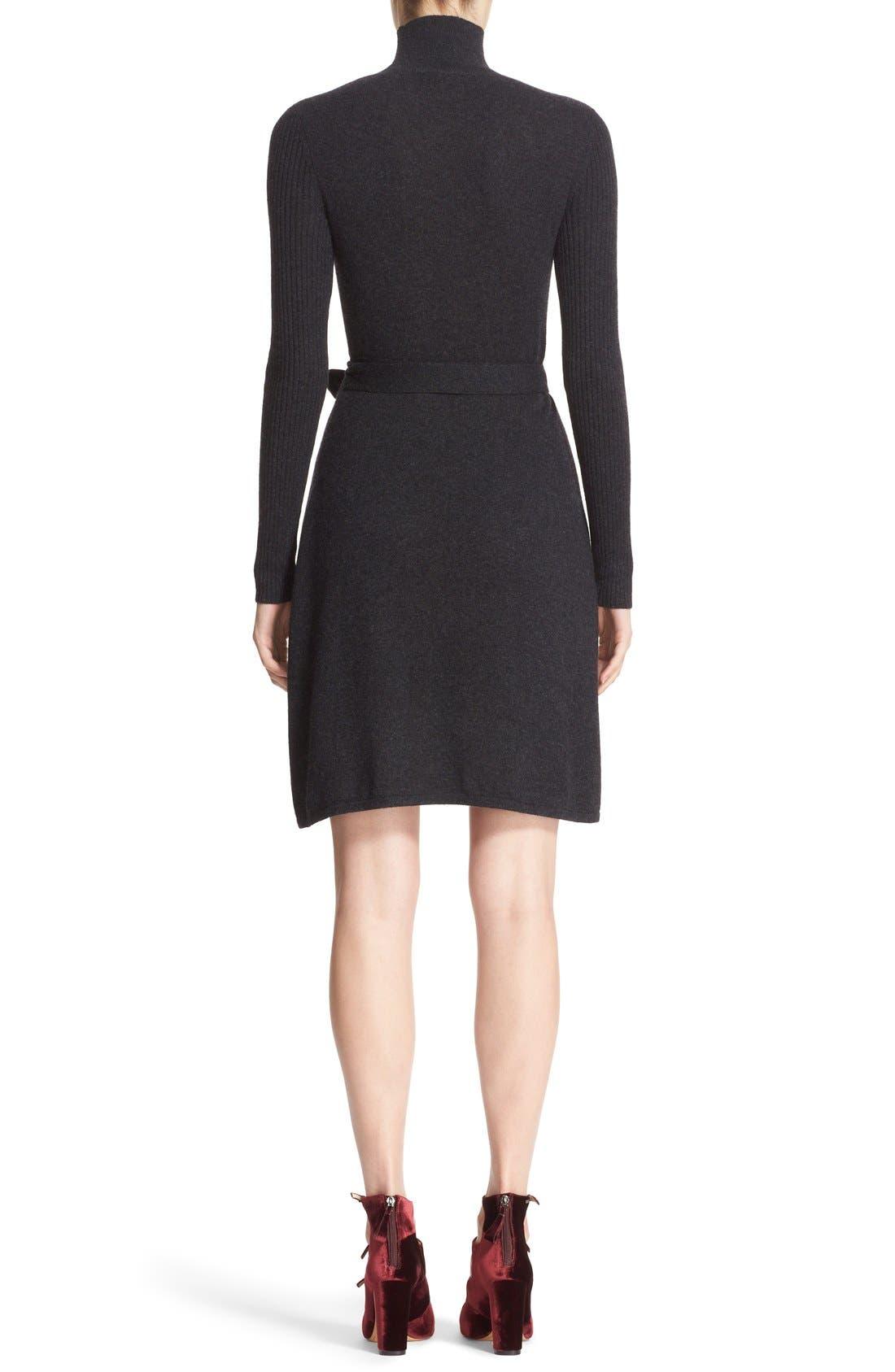 Alternate Image 2  - Diane von Furstenberg 'Janeva' Wool & Cashmere Wrap Dress