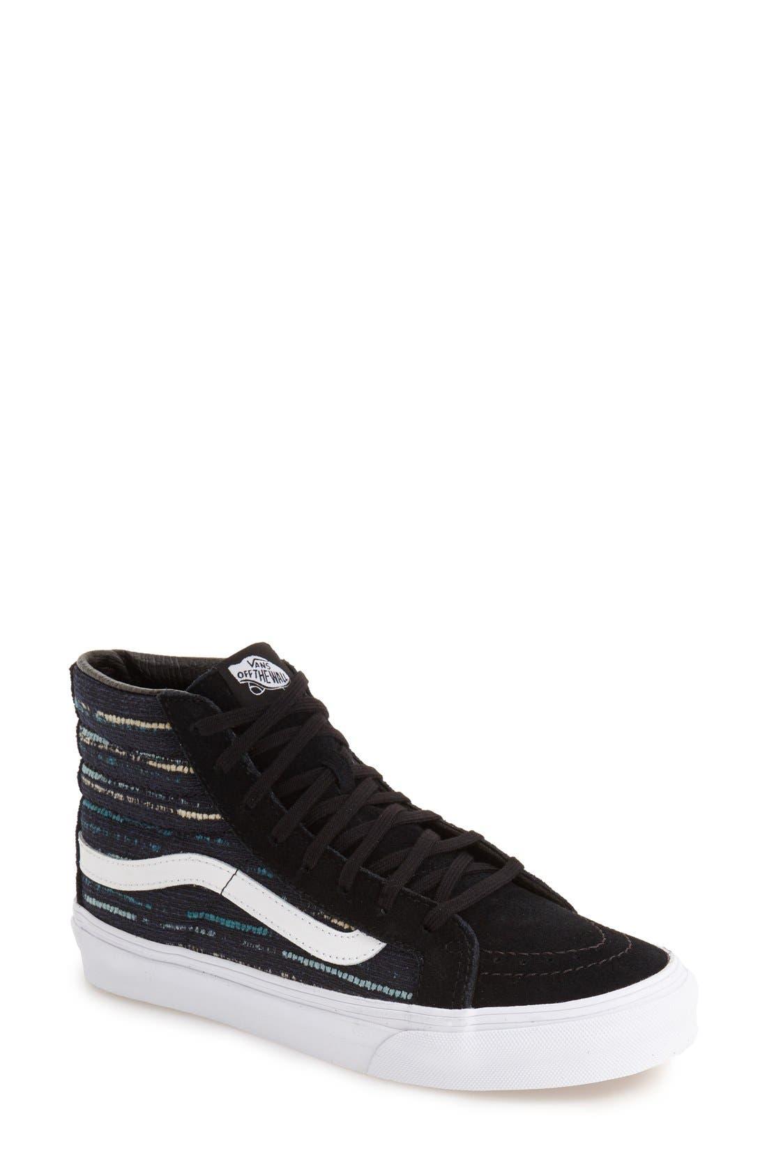 Alternate Image 1 Selected - Vans Sk-8 Hi Slim Sneaker (Women)
