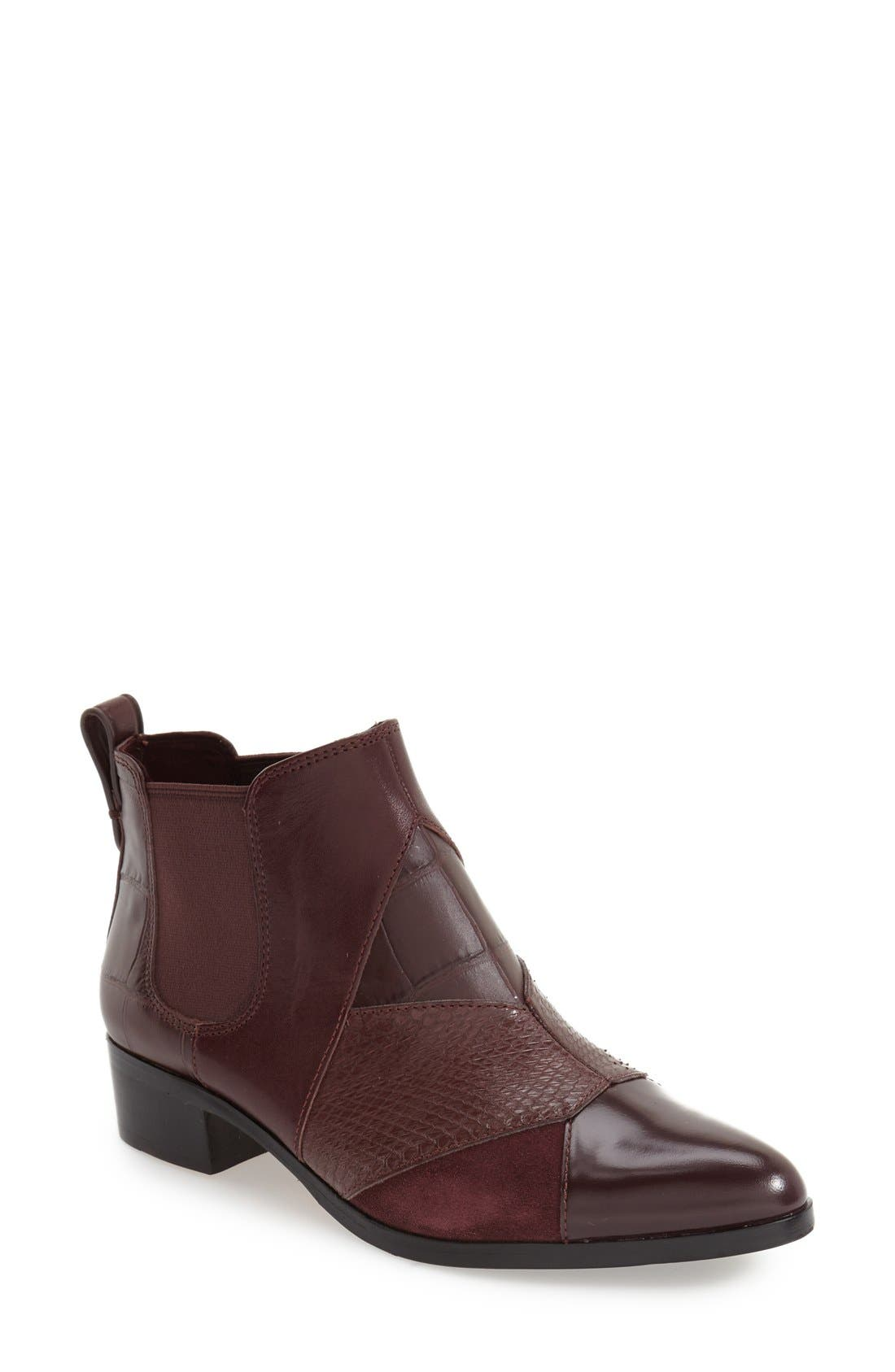 COACH 'Suffolk Patchwork' Pointy Toe Chelsea Boot (Women ...