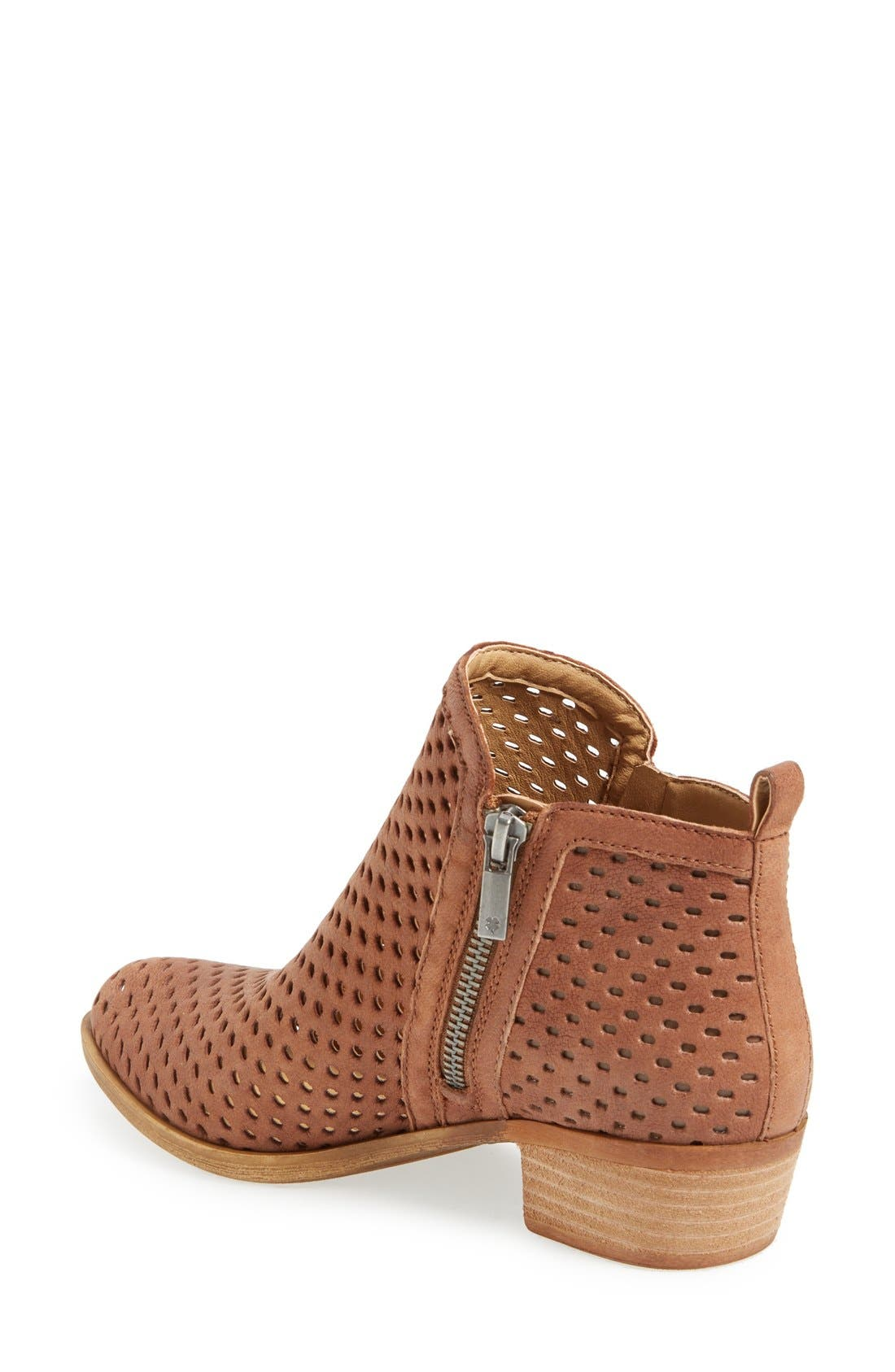 Alternate Image 2  - Lucky Brand Basel Perforated Bootie (Women)