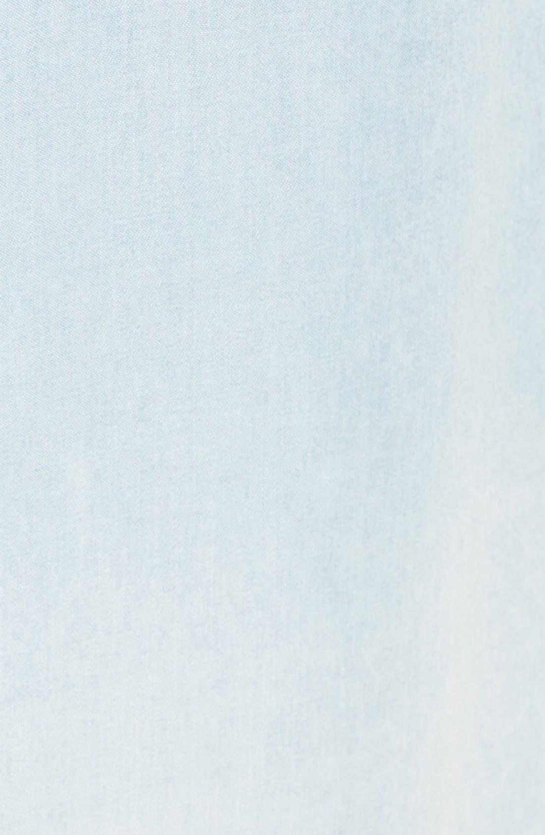 Alternate Image 6  - Billabong 'Got the Blues' Chambray Shirtdress