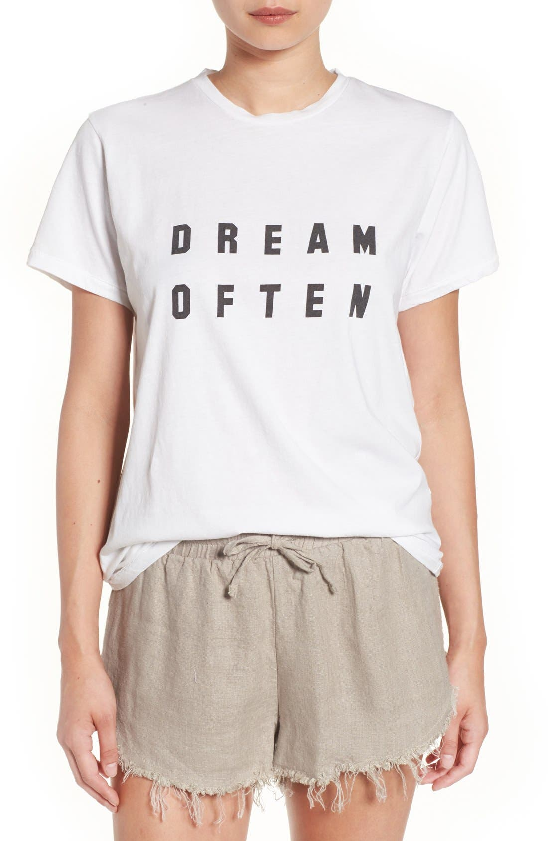 Alternate Image 1 Selected - Sincerely Jules 'Dream Often' Graphic Tee
