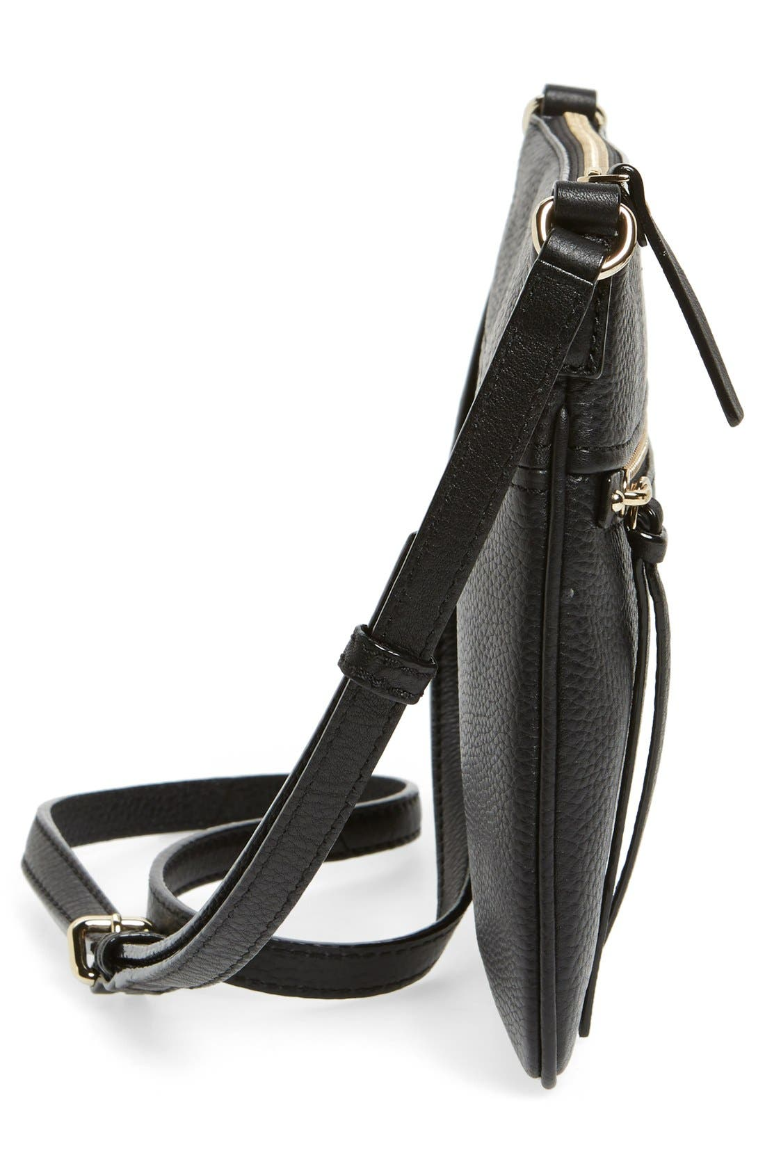 Alternate Image 5  - kate spade new york 'cobble hill - gabriele' pebbled leather crossbody bag