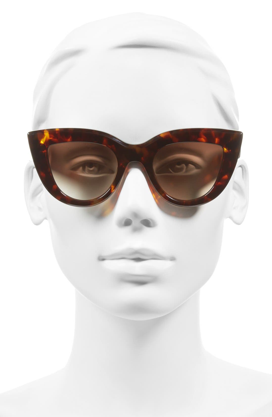 Alternate Image 2  - ELLERY 'Quixote Classic' 45mm Cat Eye Sunglasses