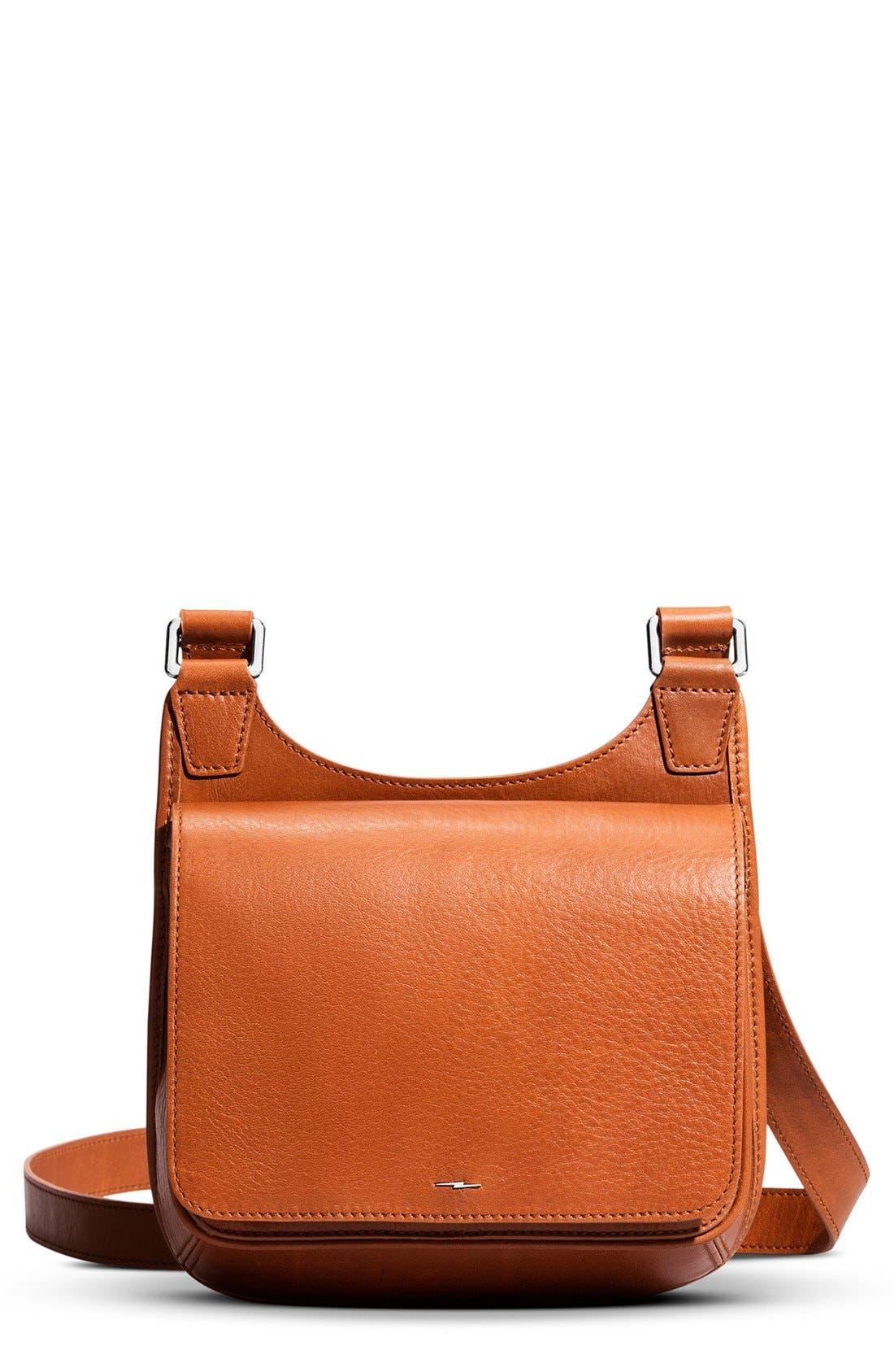Shinola Small Field Leather Crossbody Bag