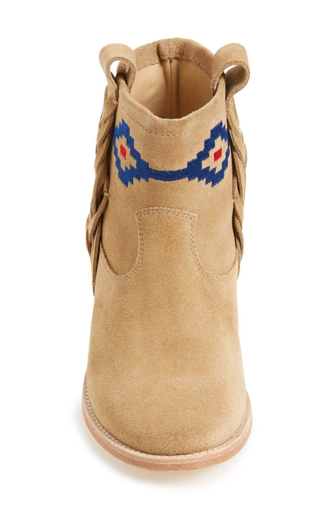 Alternate Image 3  - Soludos Embroidered Bootie (Women)