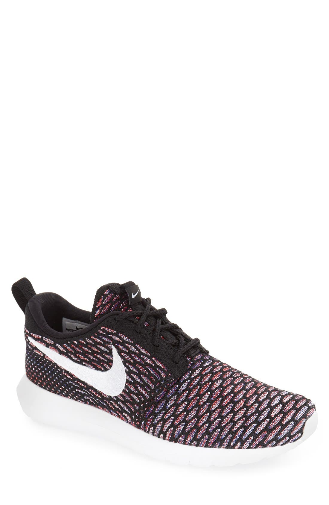 Roshe Nm Flyknit Running Shoe Voltage Green