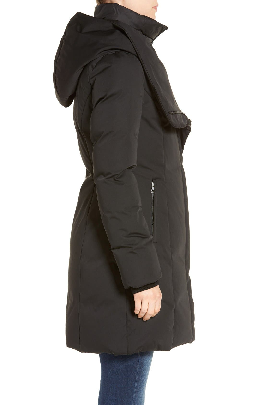 Alternate Image 3  - Soia & Kyo Water Resistant Hooded Down Walking Coat