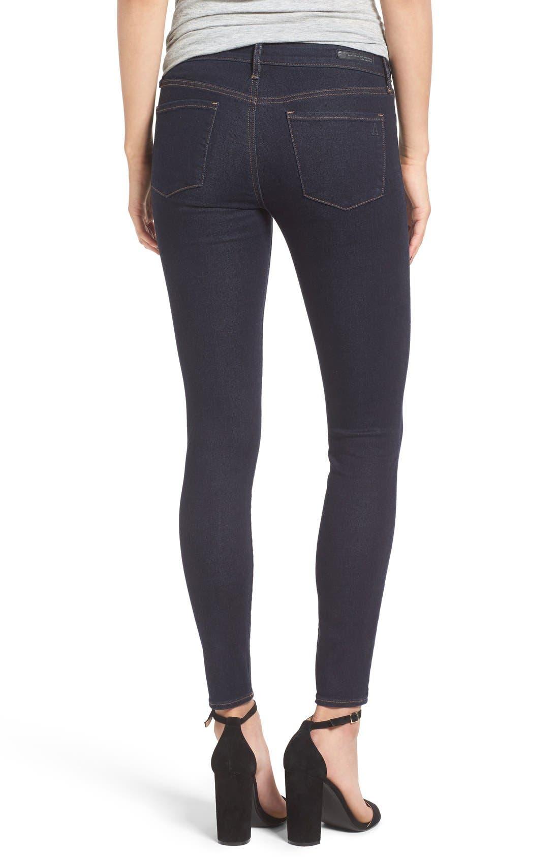 Alternate Image 3  - Articles of Society 'Sarah' Skinny Jeans (Melrose)