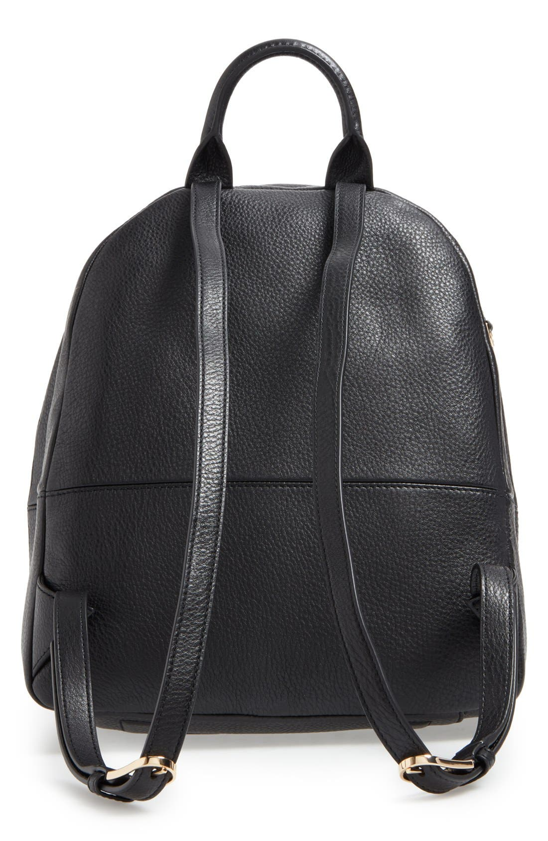 Alternate Image 3  - Tory Burch Pebbled Leather Backpack