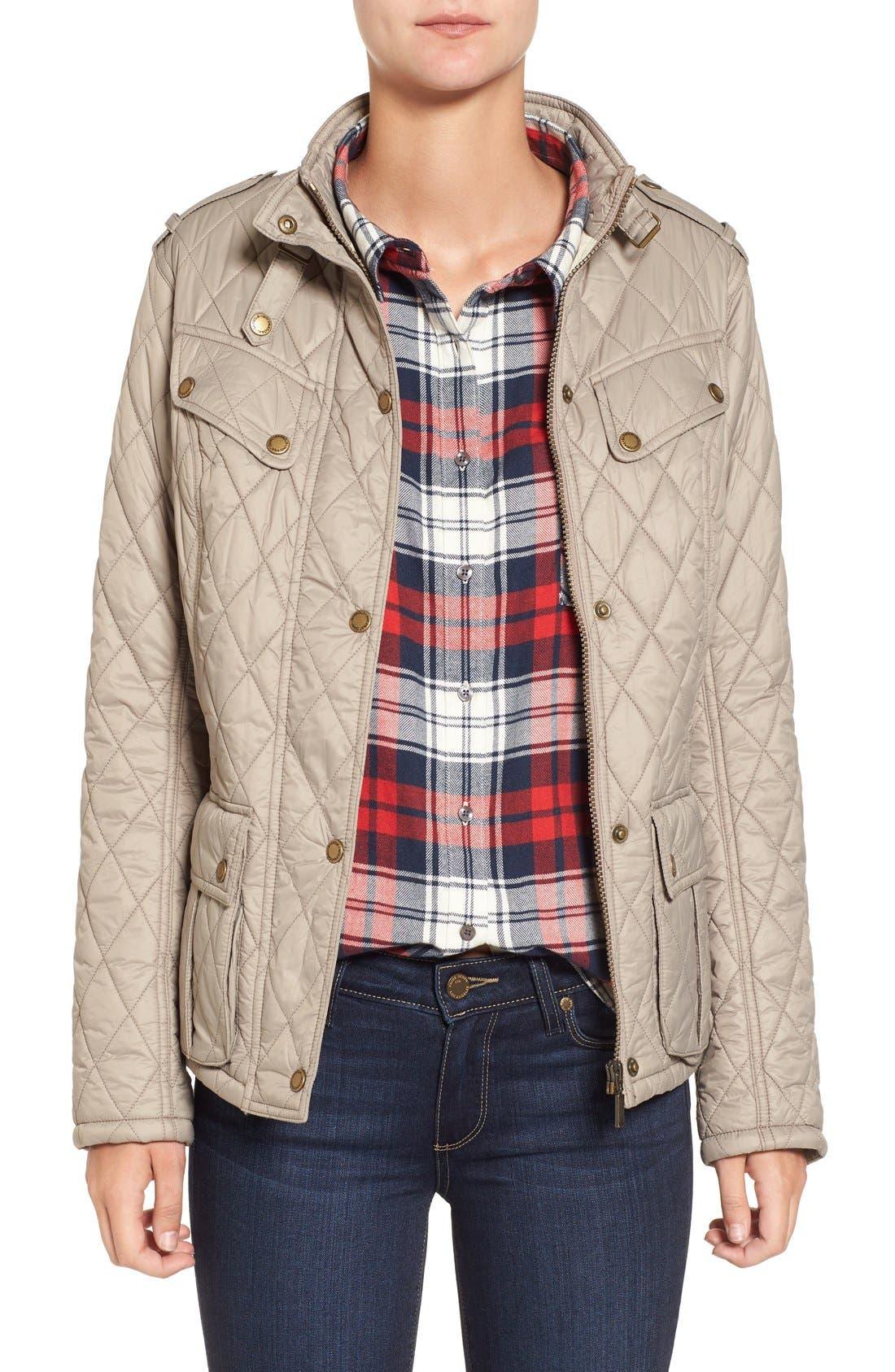 Alternate Image 1 Selected - Barbour International Caster Quilted Jacket