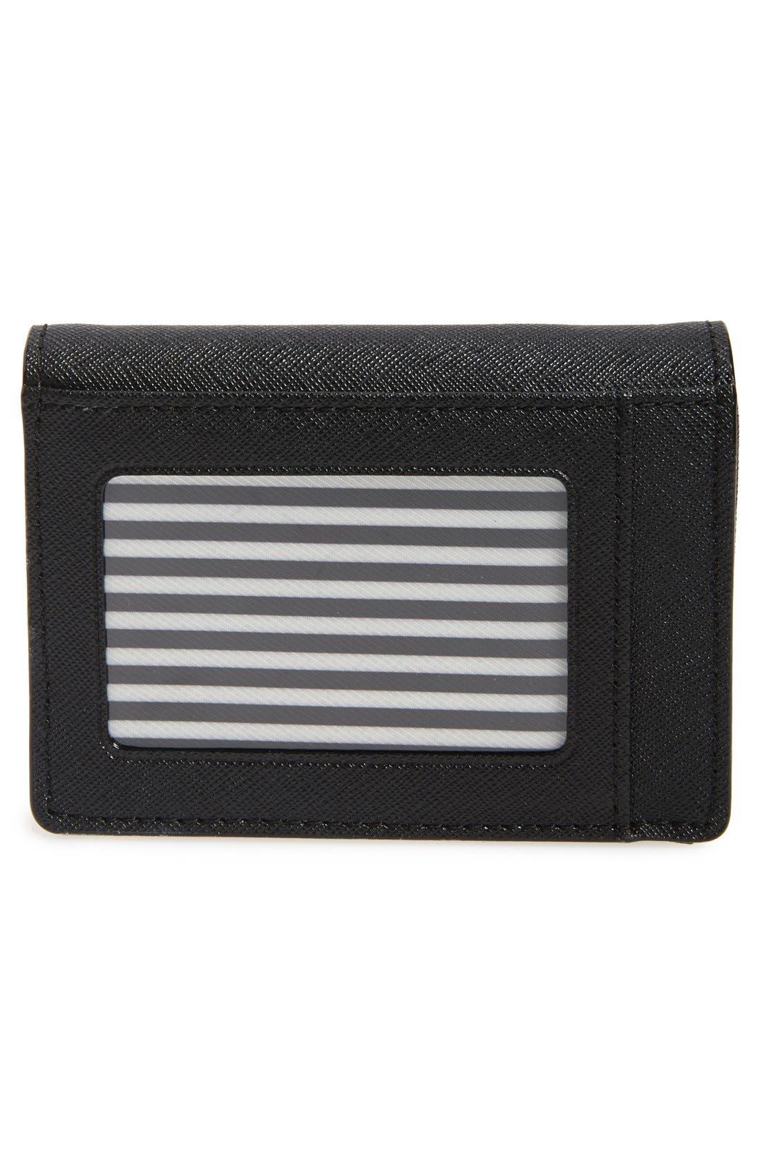 Alternate Image 4  - kate spade new york 'cameron street - beca' textured leather wallet