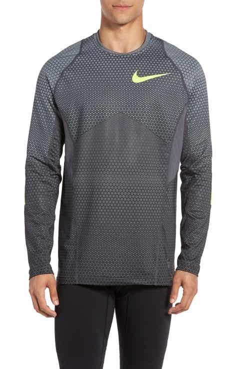 Nike Pro Hyperwarm Hexodrome Training Top