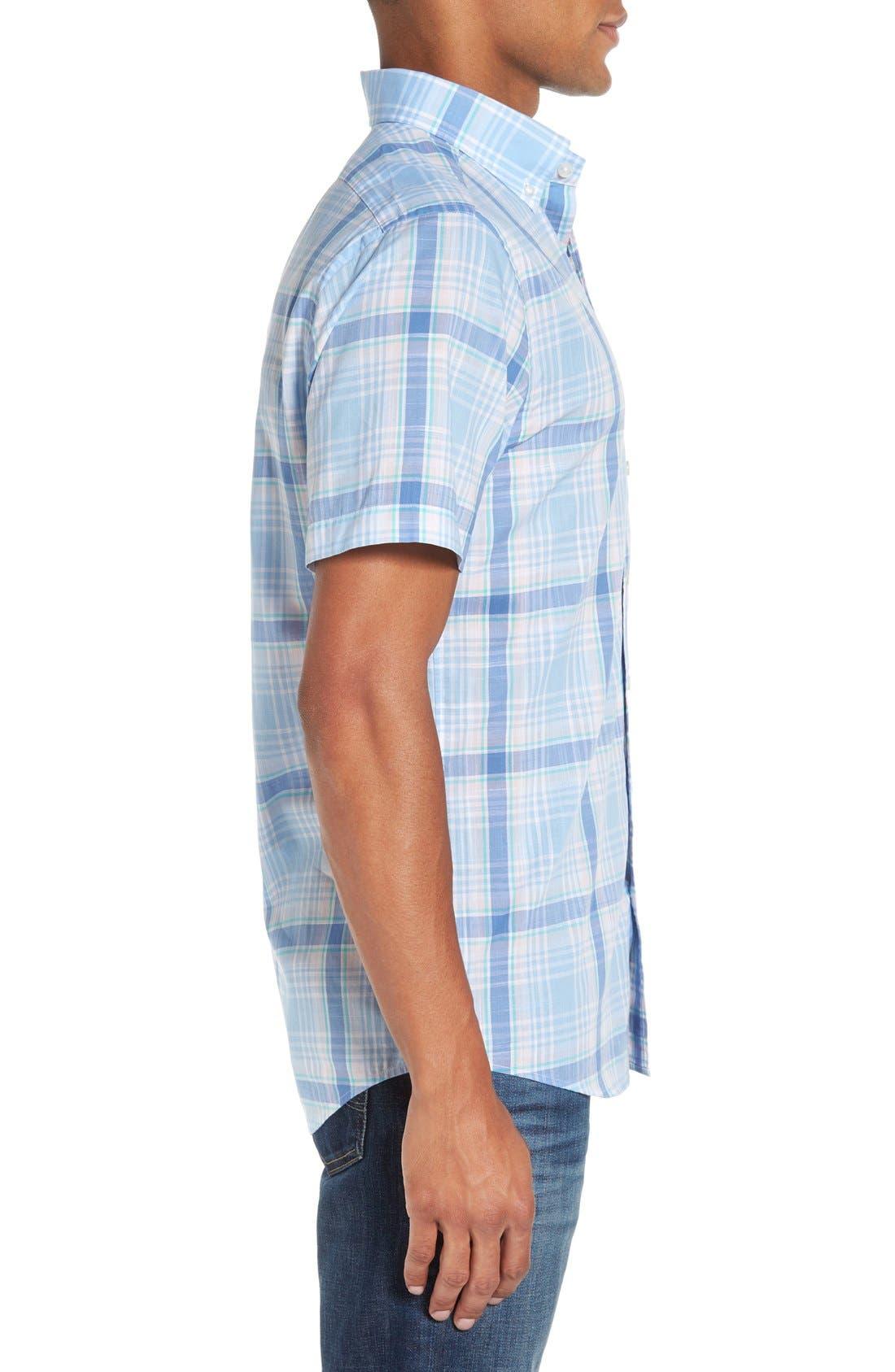 Alternate Image 3  - Vineyard Vines 'Hamblin - Tucker' Regular Fit Plaid Sport Shirt
