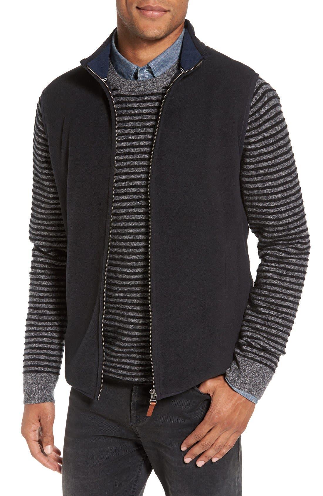 Main Image - Nordstrom Men's Shop Polar Fleece Vest (Regular & Tall)
