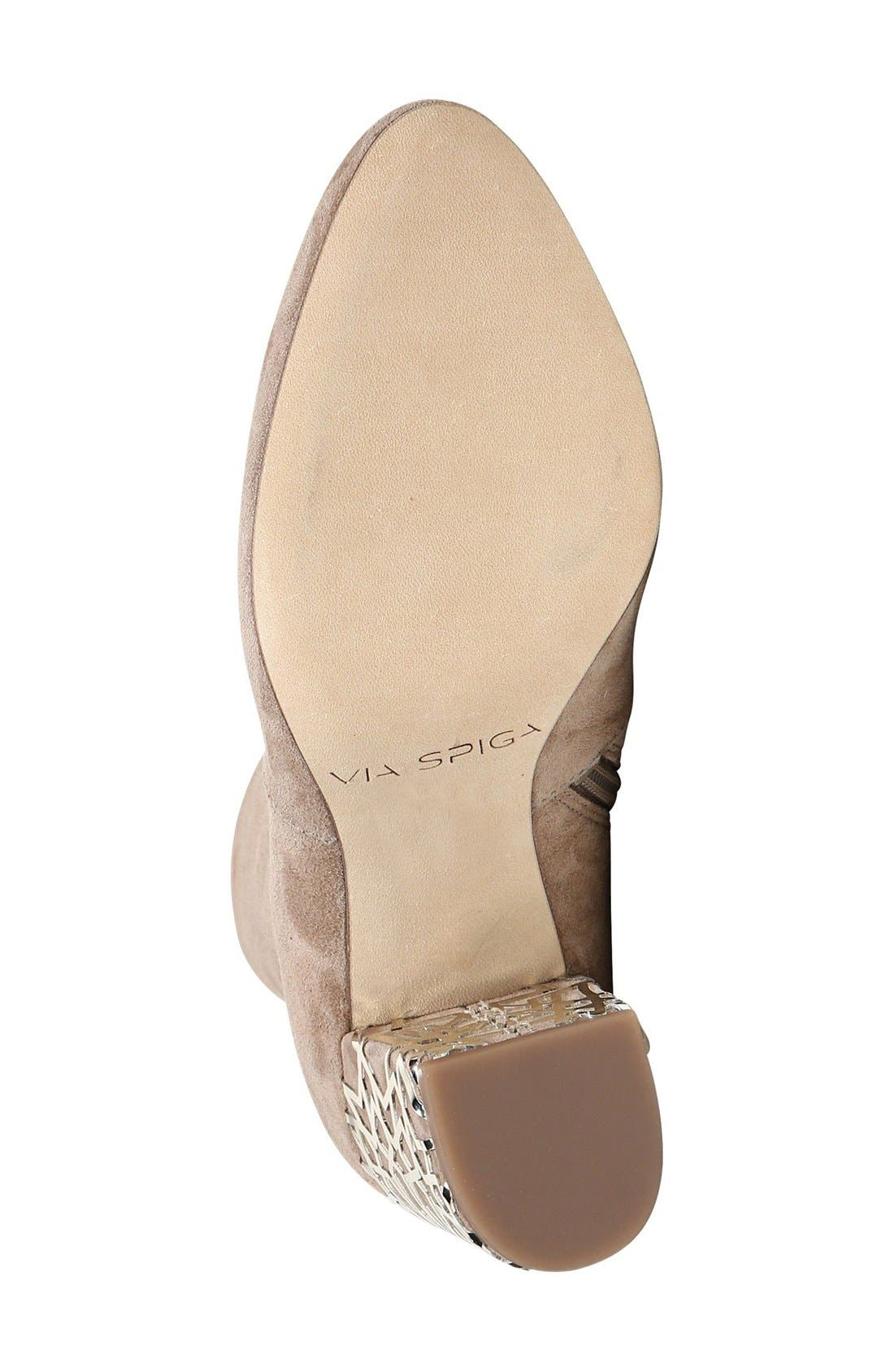 Alternate Image 4  - Via Spiga 'Daisie' Caged Heel Bootie (Women)