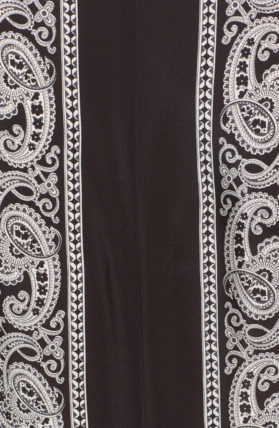 Alternate Image 3  - Altuzarra Paisley Print Handkerchief Hem Silk Dress