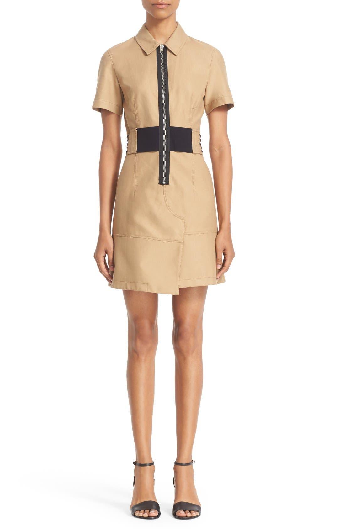 ALEXANDER WANG Cotton Safari Dress
